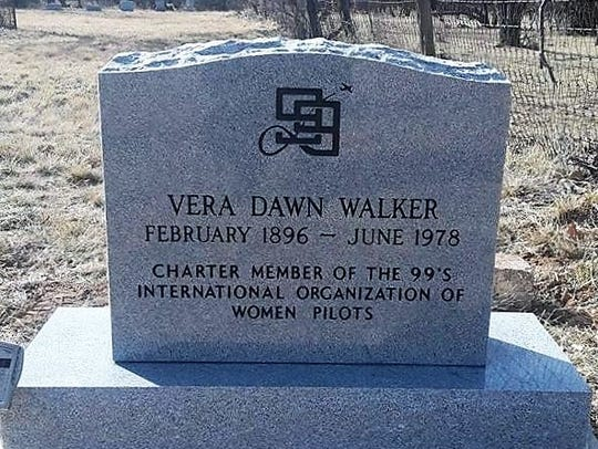 A marker was placed in February at Vera Dawn Walker's