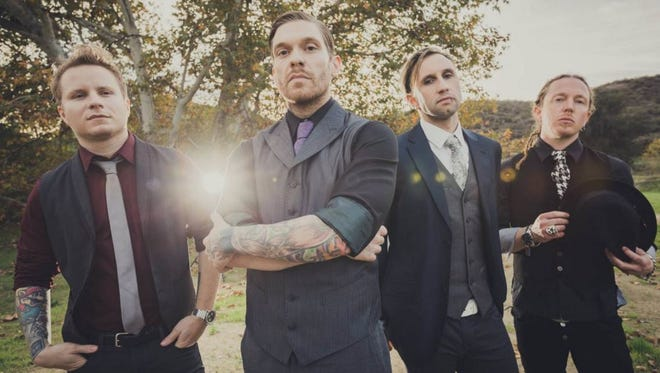 Shinedown will perform on May 1 at Fort Rock