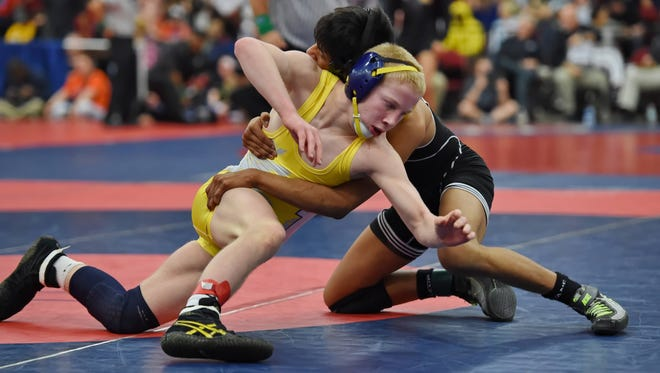 Eastside junior Jordie White, front, a two-time state champion, has placed first and third, respectively, the past two years in the Southern Slam at Eastside.