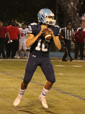 Wayne Valley quarterback Ryan Michels passed for 108 yards and two touchdowns against Irvington.