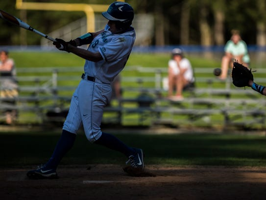 Nathan Colgrove and Colchester head to Brattleboro for a Division I baseball semifinal on Tuesday.