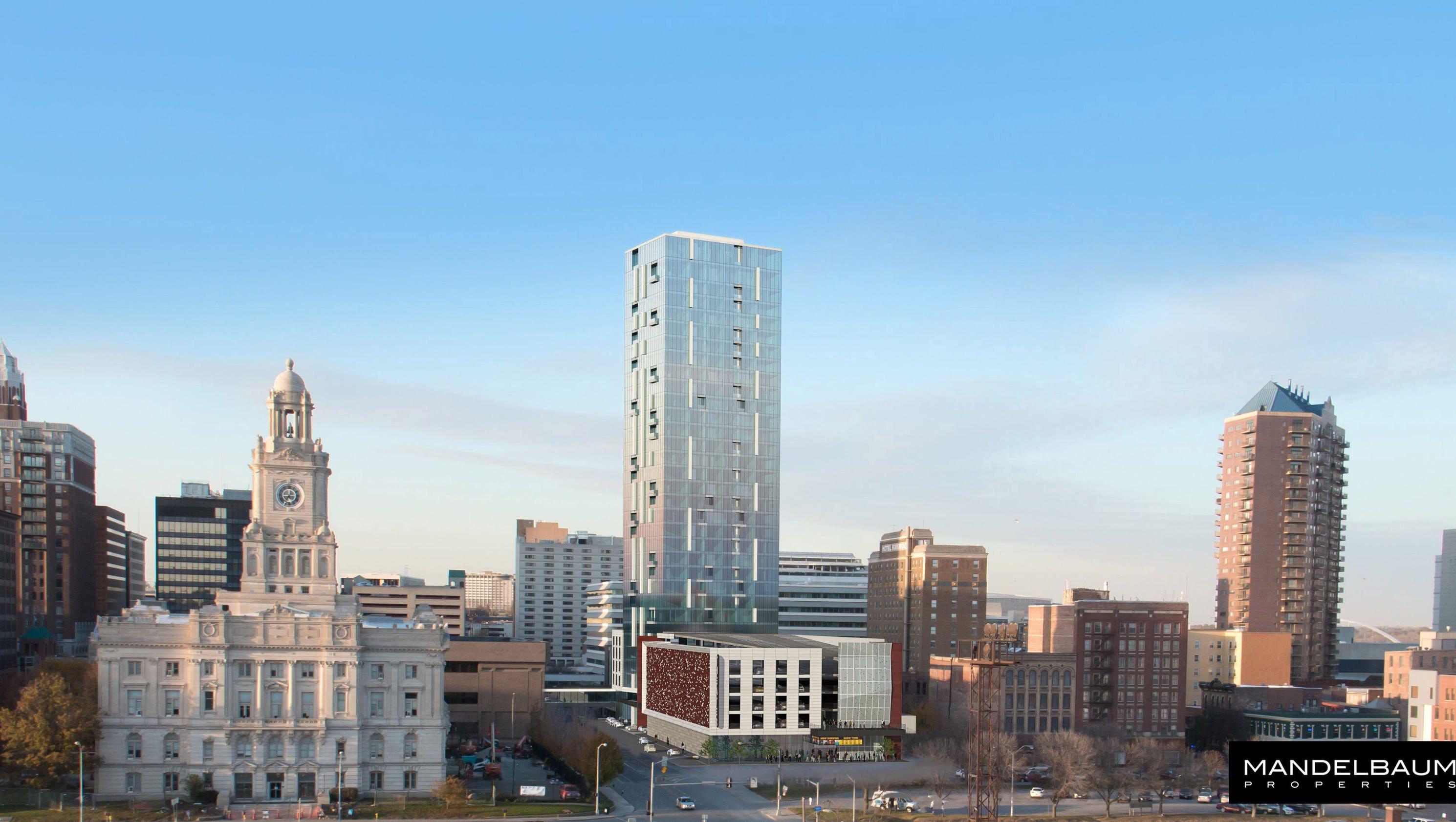 New Building Downtown Des Moines