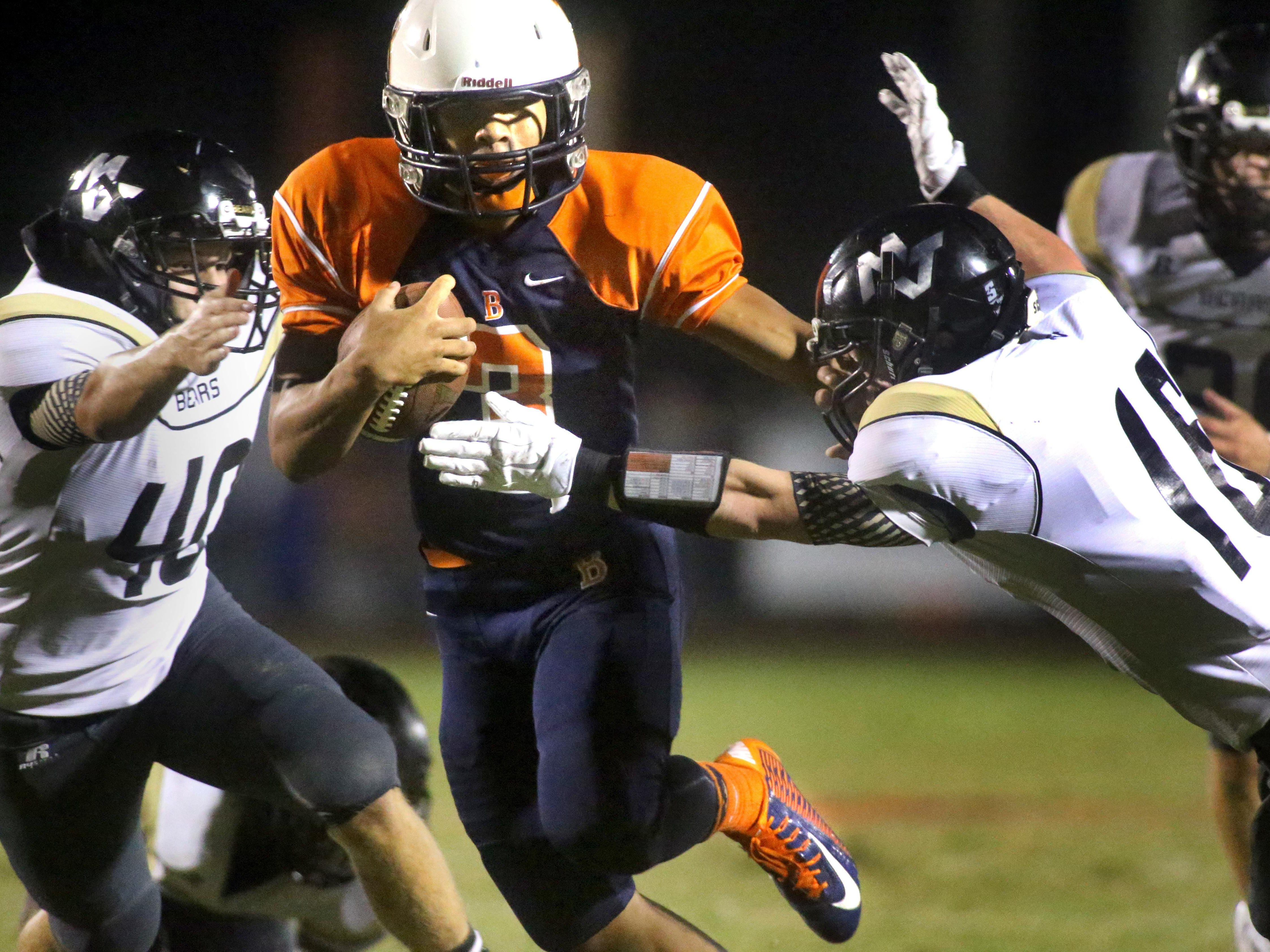 Blackman's Taeler Dowdy will be the Blaze's starting running back in 2015.