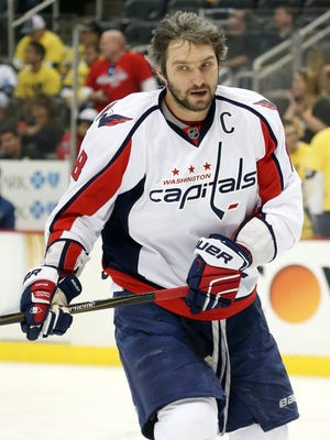 Washington Capitals captain Alex Ovechkin had 50 goals and 21 assists during the regular season.