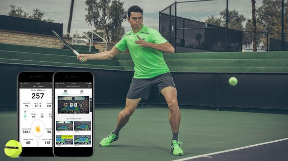 A smart sensor for your tennis racket