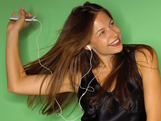Earbuds in happier times.