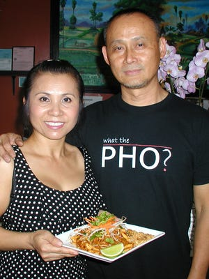 Davorn and Sam Vilay offer both traditional and trendy cuisine at Davorn's Place Lao/Thai Café.