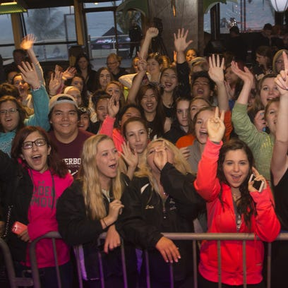 Fans wait for the first act at last year's WPLJ Todd