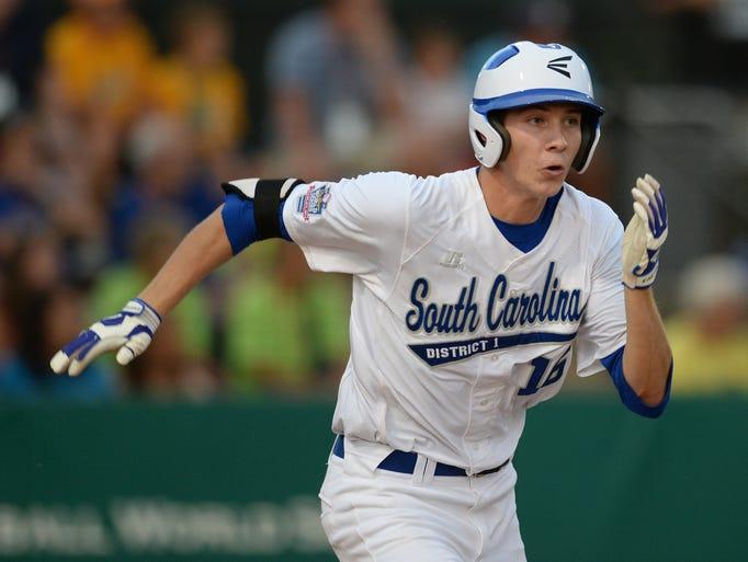 South Carolina District 1 plays Clearwater in the semifinals of the Big League World Series in Easley, S.C. Tuesday, July 29, 2014.