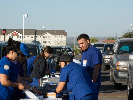 As Nursing students from Doña Ana Community College