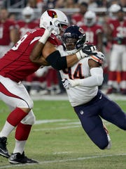 Cardinals lineman Jared Veldheer moved to the right