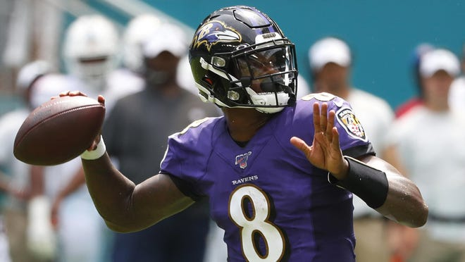 Lamar Jackson excelled as the Baltimore Ravens' quarterback this season and is the frontrunner for the NFL's Most Valuable Player award.