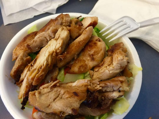 The popular teriyaki chicken bowl, just $5.29.