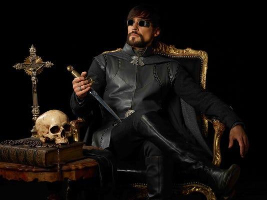 Count Girolamo Riario (Blake Ritson)