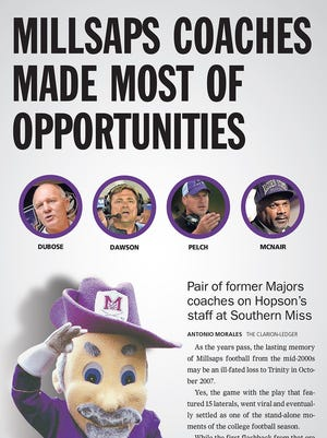 Millsaps produced its share of quality football coaches last decade.