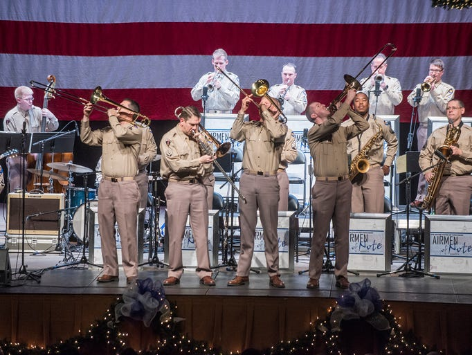 The Airmen of Note perform for Montgomery's annual