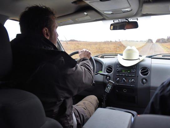 Steve Karel, Sherburne National Wildlife Refuge manager,
