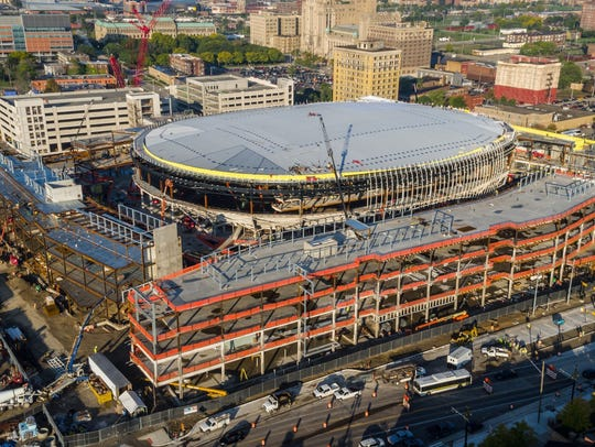 Little Caesars Arena will become the new home of the