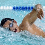 Pittsford senior Arthur Fan, a member of the 2015 Democrat and Chronicle All-Greater Rochester  Boys Swimming Team, was named swimmer of the meet at last season's Class A sectionals and the Monroe County Swimmer of the Year.