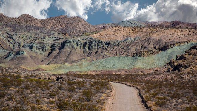 Desert Landscape series No. 7.