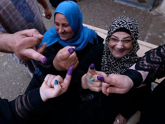 AP IRAQ ELECTIONS I IRQ