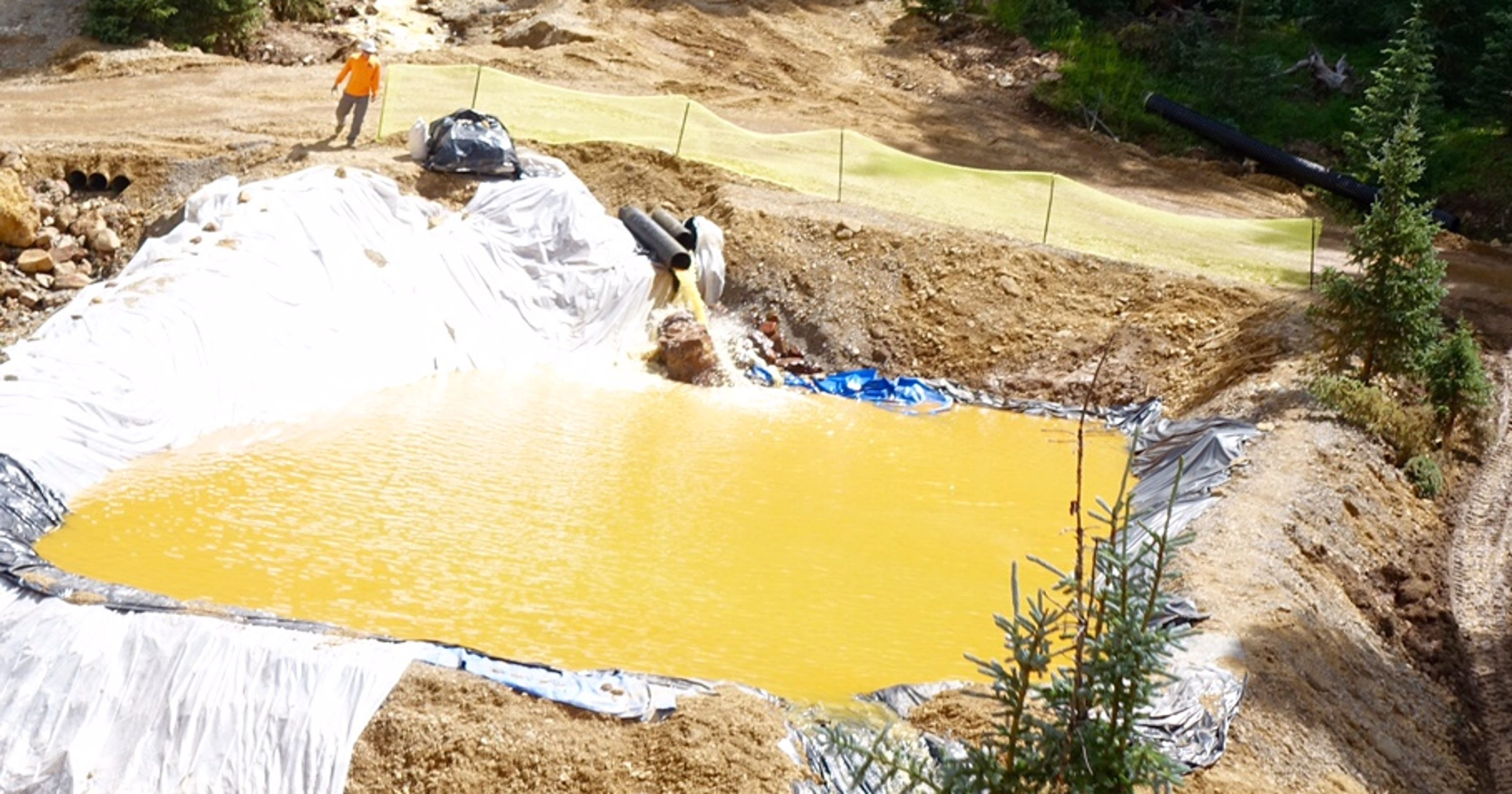 Toxic mines taint the West's waterways