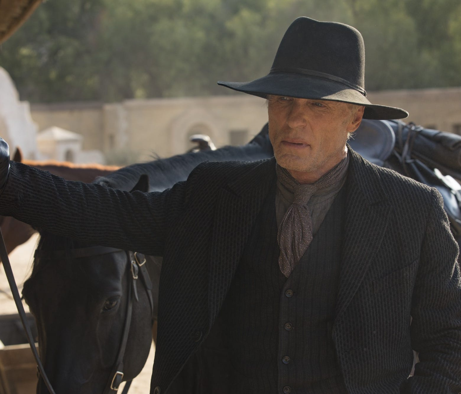 The Man in Black/William (Ed Harris) in