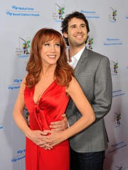 Kathy Griffin and Josh Groban attend the UCSF Medical Center and The Painted Turtle Present A Starry Evening of Music, Comedy & Surprises at Davies Symphony Hall in San Francisco, Calif., in 2014.