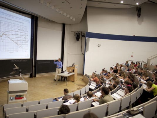 Lecture At A Technical University