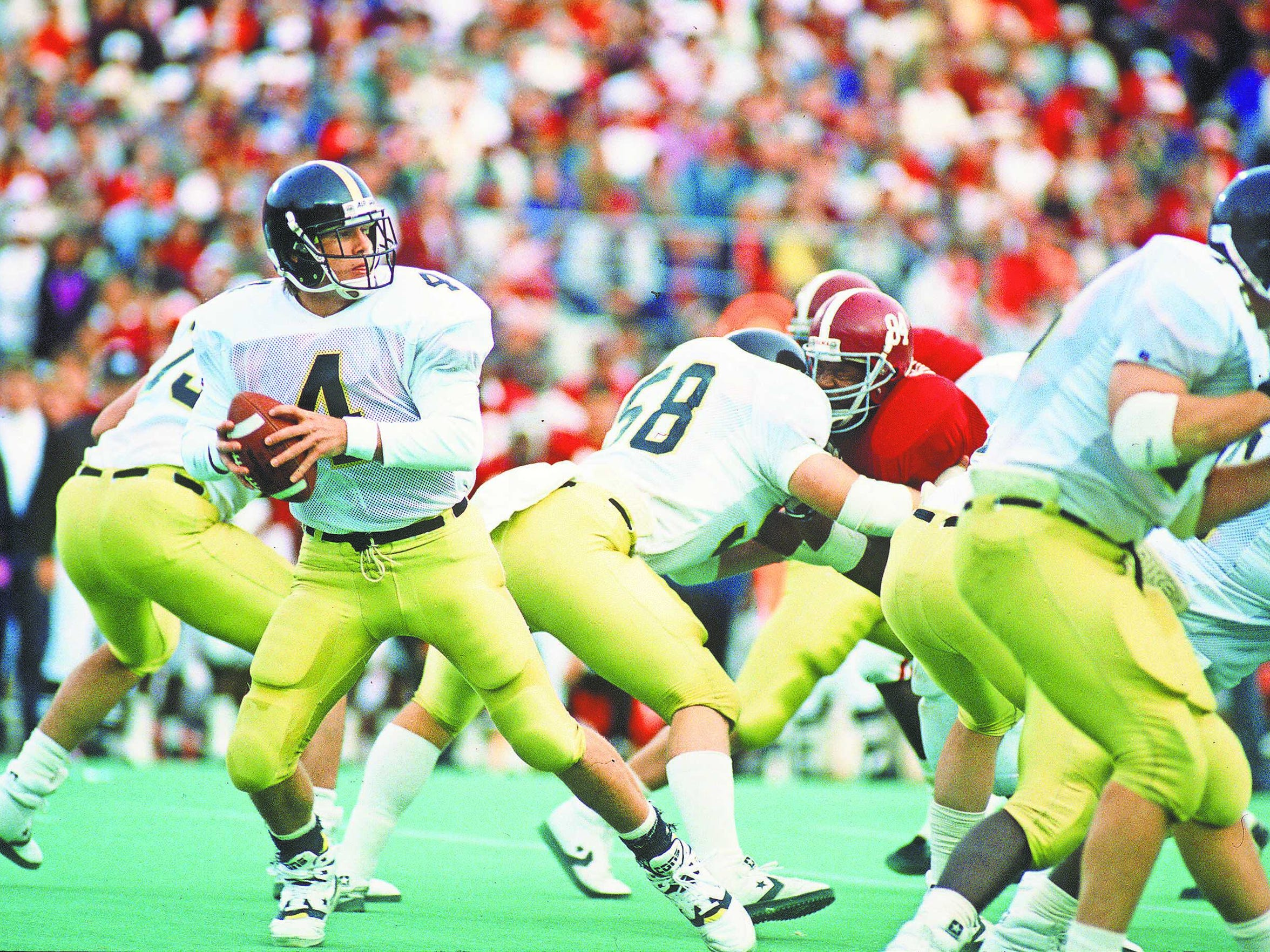 During his time at Southern Miss Brett Favre beat Alabama, Auburn, Mississippi State and Florida State, among others.