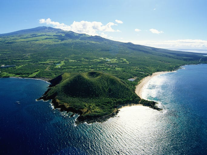 One of the best known sites on Maui, over one million visitors brave the 10,023 foot summit of Haleakala each year.