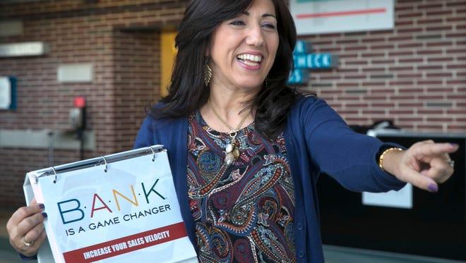 Jill Merriman, Middletown, runs seminars that help businesses improve their financial systems.