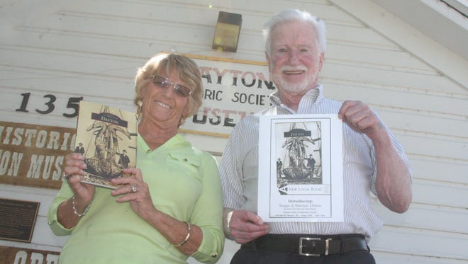 """Laura Tennant and Jack Folmar, co-authors of """"Dayton: Images of America,"""" will hold a signing for their new book Aug. 1 at the Dayton Community Center."""