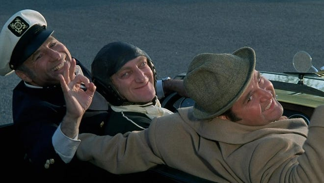 """Silent Movie"" stars Mel Brooks, Marty Feldman and Dom DeLuise as wannabe filmmakers."