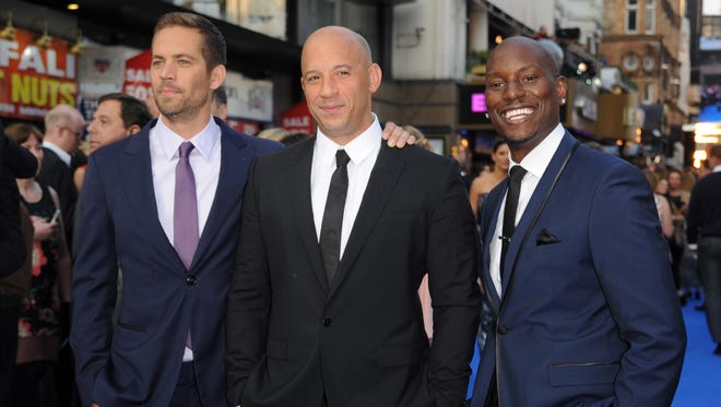In May, Walker premiered 'Fast & Furious 6' in London with his co-stars Vin Diesel and Tyrese Gibson.
