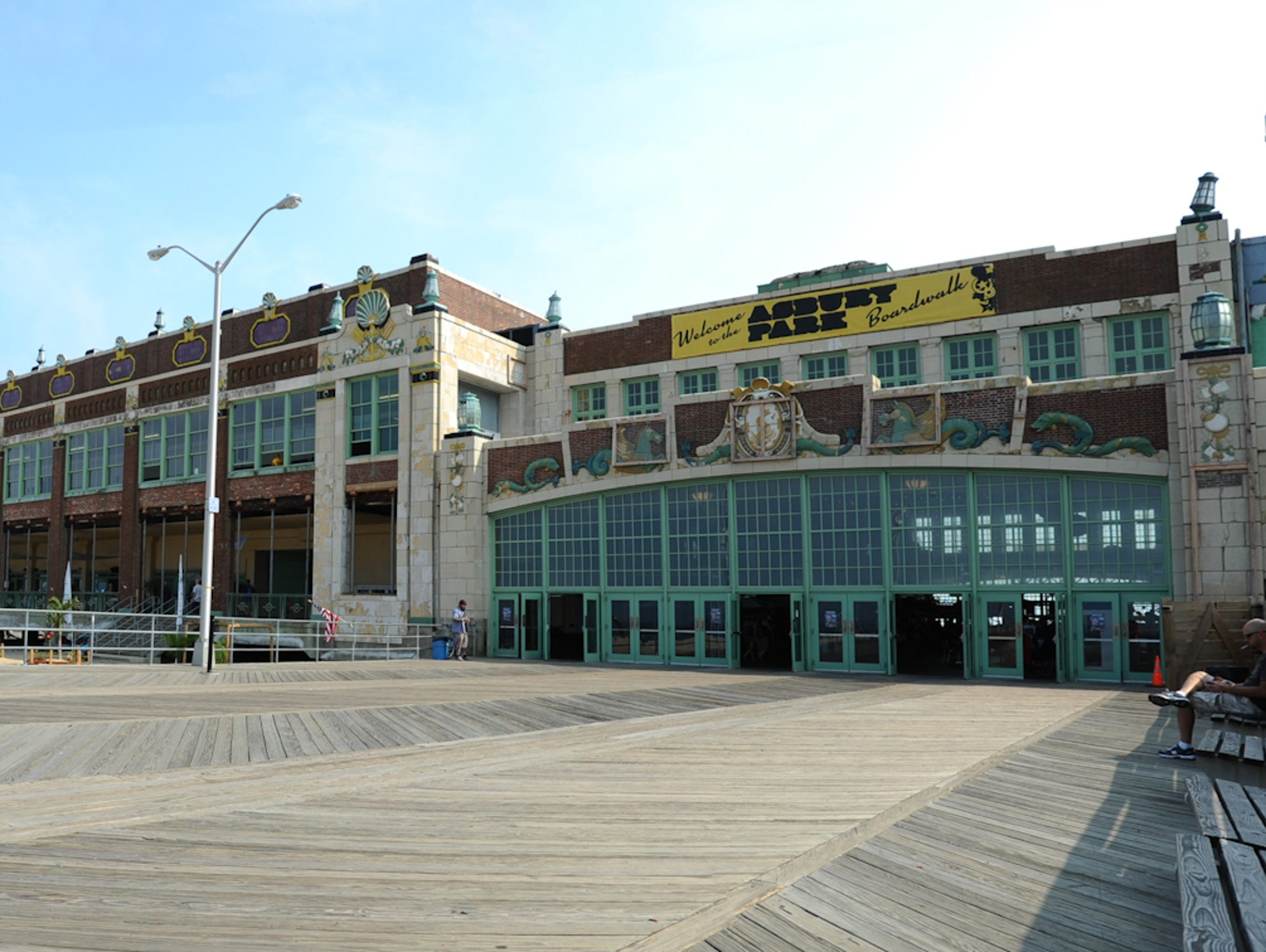 Convention Hall on the Asbury Park boardwalk.