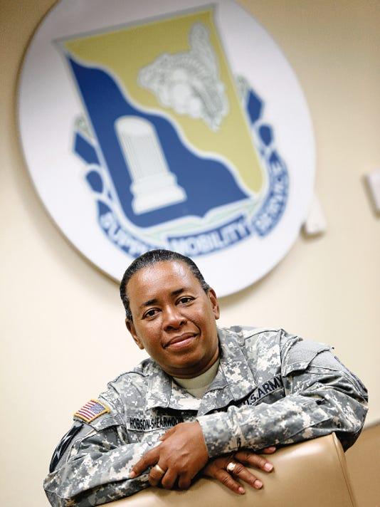 Sgt. 1st Class Lynnette Hobson-Shearwood.