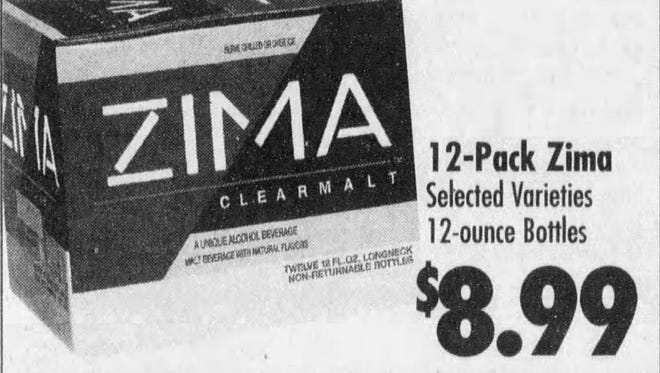 Call it a comeback. Zima may soon be available again in the U.S.