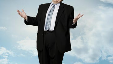Comedian Louie Anderson playing Midland Theatre