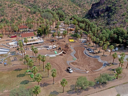 Mike and Cindy Watts are restoring Castle Hot Springs Resort to its early 20th-century splendor and expect to reopen the property in early 2018.