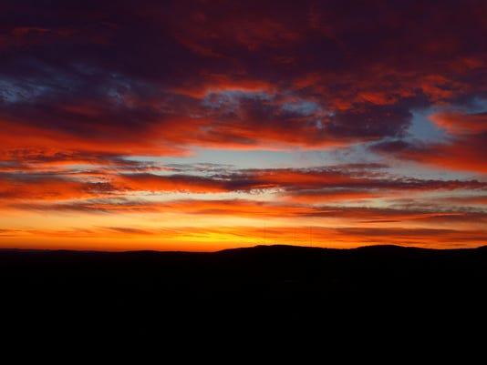 Vestal sunset