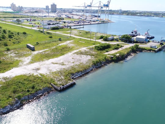 This area of Port Canaveral will be developed into
