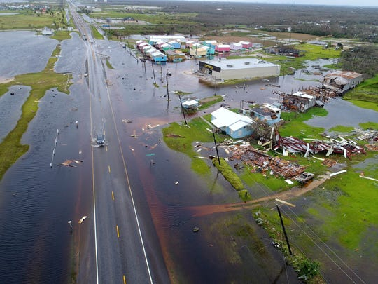Floods devastate Aransas County, located along the