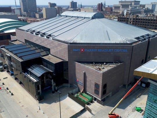 The BMO Harris Bradley Center held its last major public