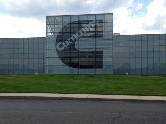 Even Cummins' main Engine Plant near downtown Columbus has a striking modernistic architectural design.