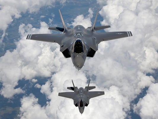 Trump's doubts on F-35 jet cast pall on pace of defense buildup