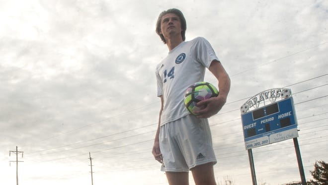 Williamstown senior defenseman Matt Fahey is the Courier-Post's Boys' Soccer Player of the Year.