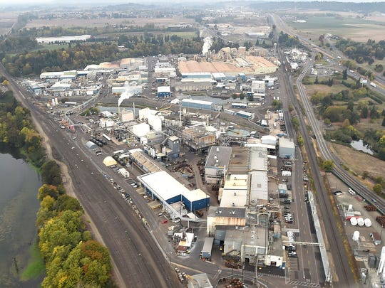 The ATI plant, also known as Wah Chang, sits on a 110-acre strip of land in Millersburg in between Interstate 5 and the lakes surrounding Simpson Park.