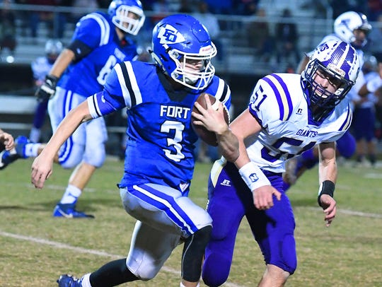 Cole Sligh and Fort Defiance open the season Aug. 24