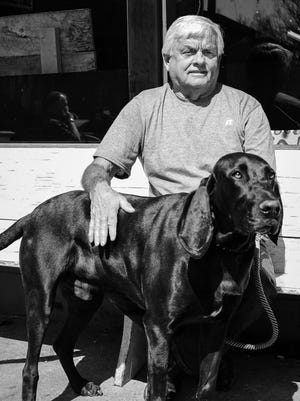 Don and his four-legged friend, Henry.